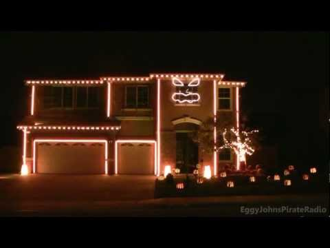 Drumstep Light Show – This is Halloween