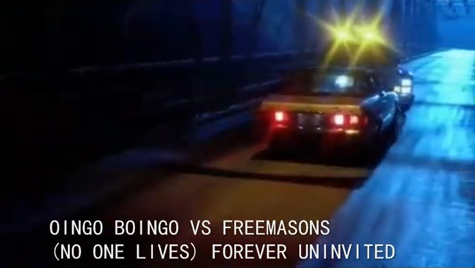 OINGO BOINGO 2011 – NO ONE LIVES FOREVER FREEMASONS REMIX UNINVITED – BEST MASHUP