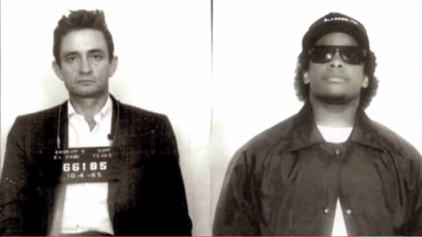 Folsom Prison Gangstaz – Eazy E & Johnny Cash – By DJ Topcat