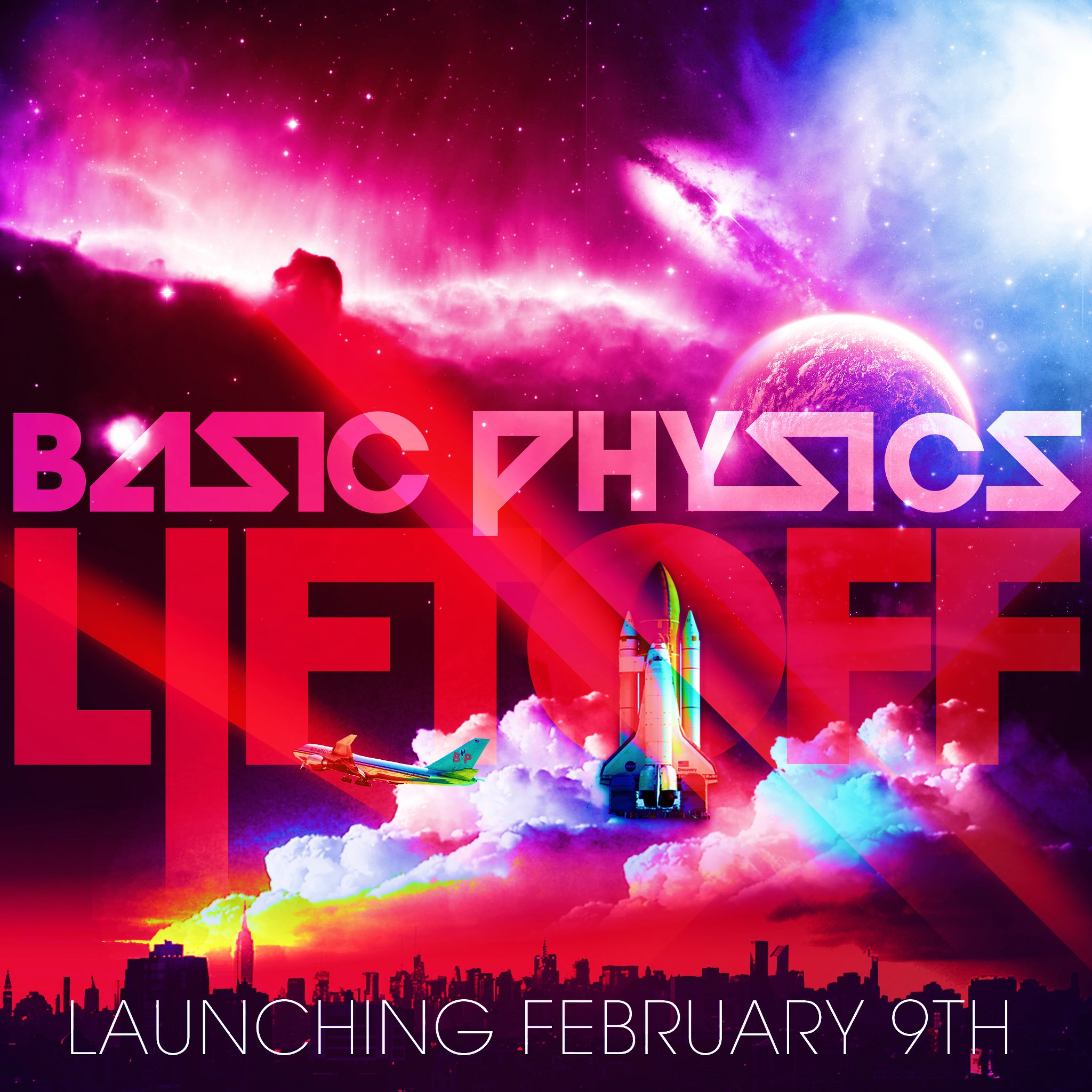 Lift Off (Album Preview Feb 9th Release)  – By Basic Physics