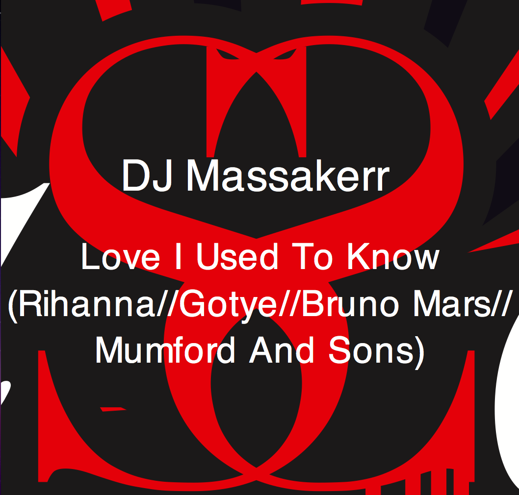 Love I Used To Know – By Dj Massakerr