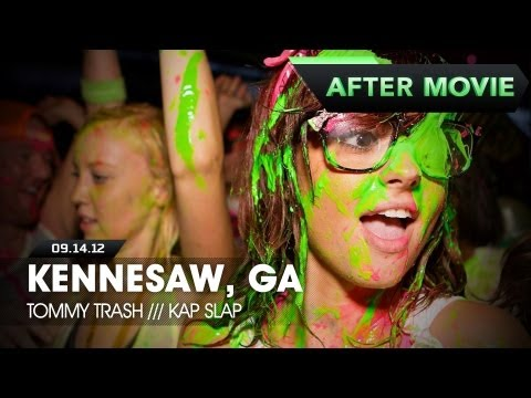 Life In Color – Kennesaw, GA – E.N.D Tour – 9/14/12 – Feat. Tommy Trash & Kap Slap