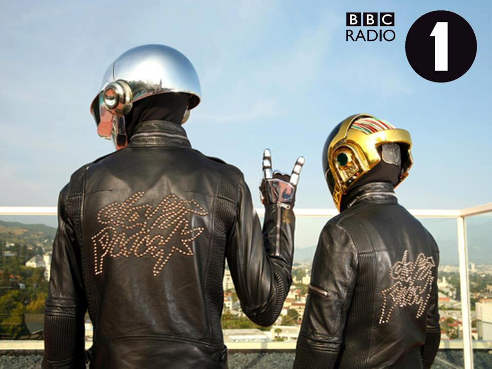 Daft Punk Interview on BBC Radio 1 (Recorded Re-Stream)