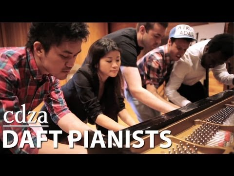 Daft Pianists (Piano Cover of Get Lucky) – By CDZA