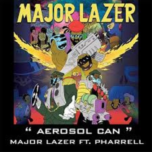 Rattle The Aerosol Can (Major Lazer & Pharrell Vs Bingo Players Mashup) – By Discosid