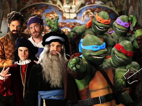 Artists vs Teenage Mutant Ninja Turtles – Epic Rap Battles of History Season 3 Finale.