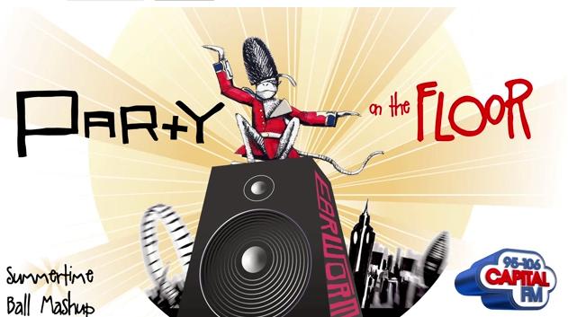 DJ Earworm – Party on the Floor (Capital FM Summertime Ball Mashup)