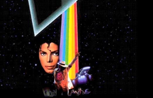 "Michael Jackson + Pink Floyd Mashup :- ""Dark Side of the Moonwalker"""