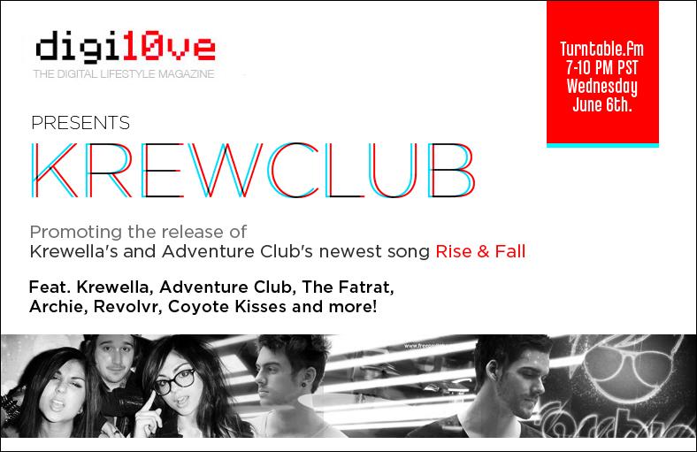 Krewella on turntable.fm June 6th
