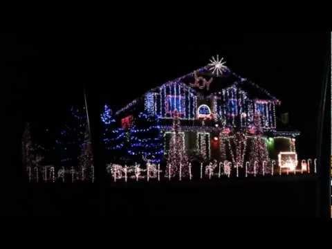 Dubstep Christmas Lights