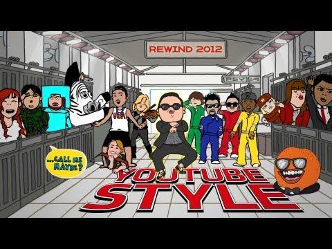 Rewind YouTube Style 2012