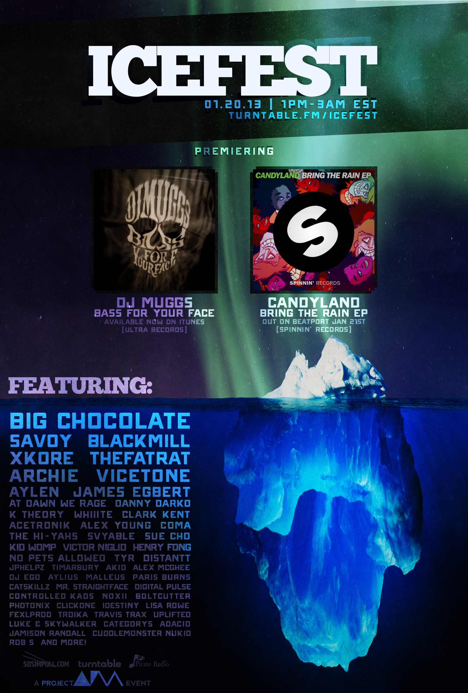 IceFest 2013 Lineup