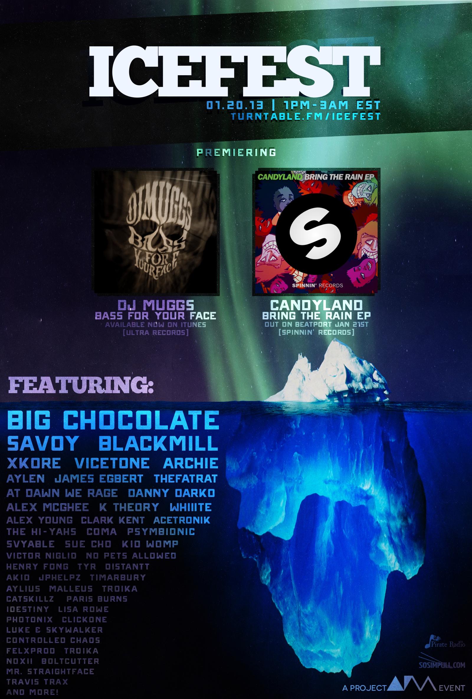 IceFest 2013 Artist LineUp