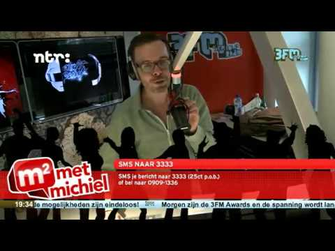 3FM – MetMichiel (Dutch Radio Station Claiming) World Premiere of Daft Punk's – Get Lucky