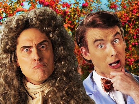 Sir Isaac Newton vs Bill Nye –  Epic Rap Battles of History Season 3