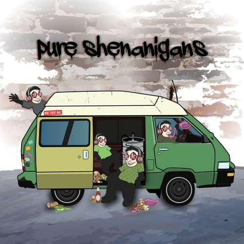 """Wick-It the Instigator releases a new album """"Pure Shenanigans"""" ( New Music )"""